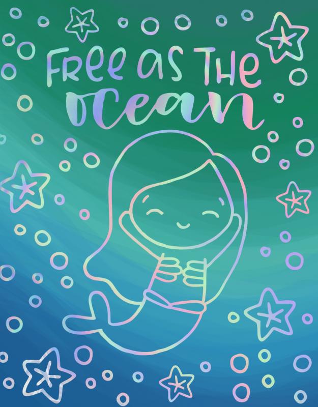 Free as the ocean